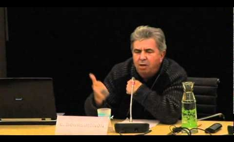 "Claude Bourguignon – Colloque : ""Où va le monde ?"""