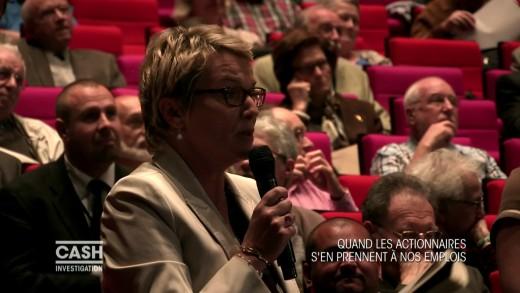 Cash Investigation : Elise Lucet à l'AG annuelle des actionnaires de Sanofi